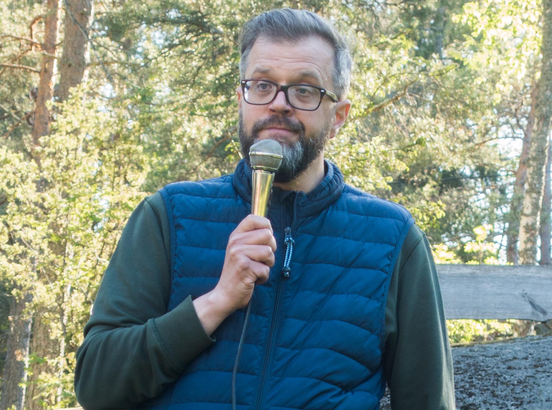 Peter Nyström, avfallschef Roslagsvatten